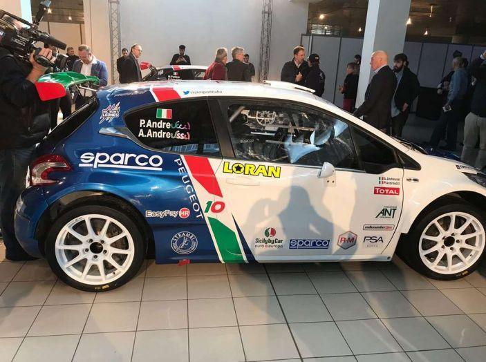 Peugeot presenta i team del Campionato Italiano Rally (CIR) 2018 - Foto 40 di 40