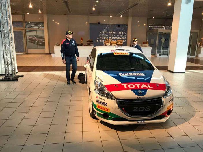 Peugeot presenta i team del Campionato Italiano Rally (CIR) 2018 - Foto 17 di 40