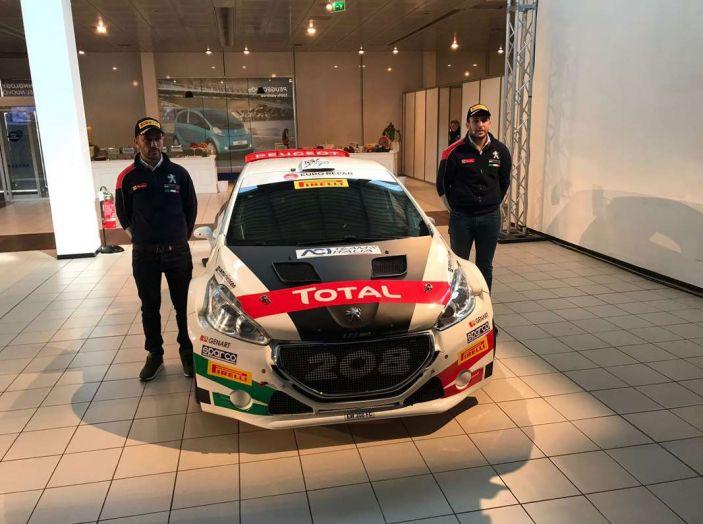 Peugeot presenta i team del Campionato Italiano Rally (CIR) 2018 - Foto 32 di 40