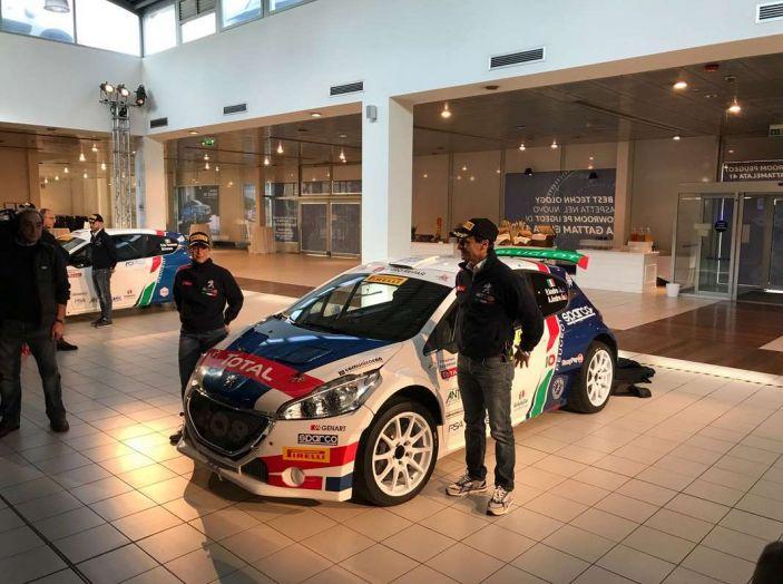 Peugeot presenta i team del Campionato Italiano Rally (CIR) 2018 - Foto 25 di 40
