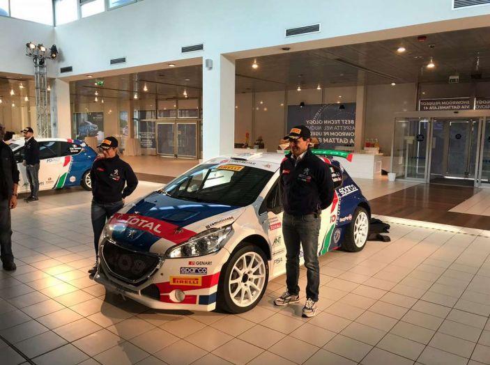 Peugeot presenta i team del Campionato Italiano Rally (CIR) 2018 - Foto 37 di 40