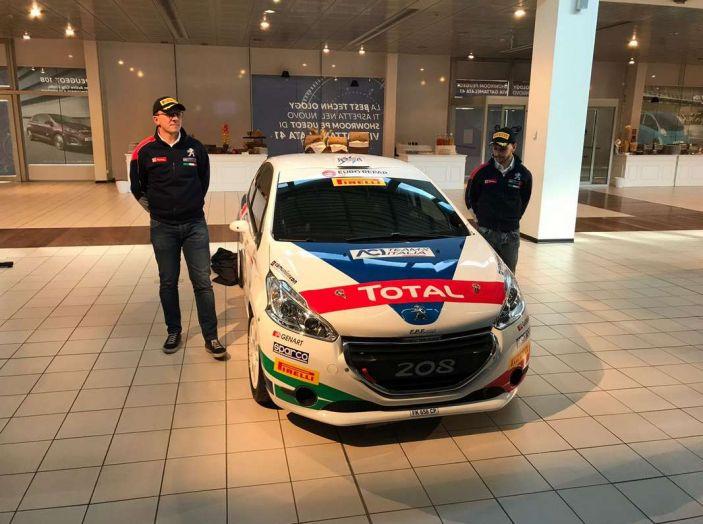 Peugeot presenta i team del Campionato Italiano Rally (CIR) 2018 - Foto 8 di 40