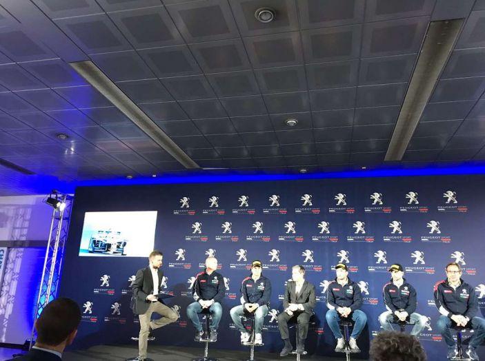 Peugeot presenta i team del Campionato Italiano Rally (CIR) 2018 - Foto 19 di 40