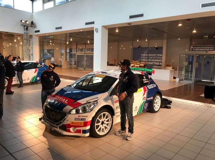 Peugeot presenta i team del Campionato Italiano Rally (CIR) 2018 - Foto 1 di 40
