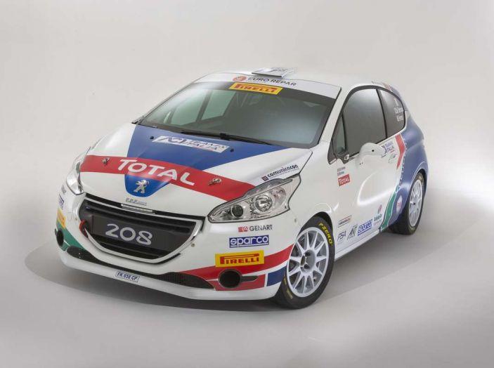 Peugeot presenta i team del Campionato Italiano Rally (CIR) 2018 - Foto 10 di 40