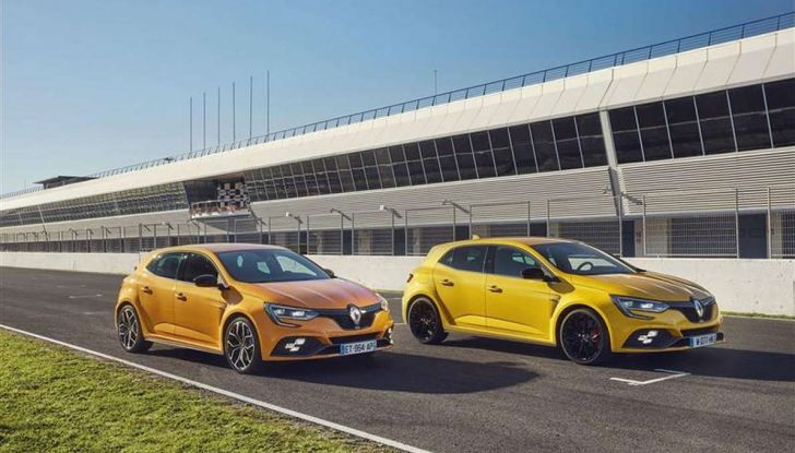 Renult Megane RS 2018: prestazioni e dati tecnici - Foto 10 di 13