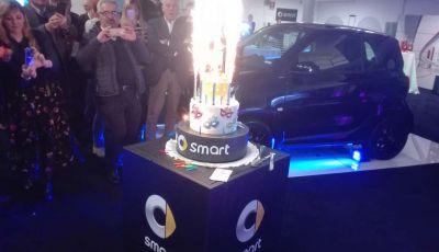 Smart festeggia i 20 anni con una serie speciale