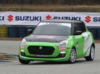 Suzuki Swift 1.0 Boosterjet RS debutta nei Campionati Italiani Rally