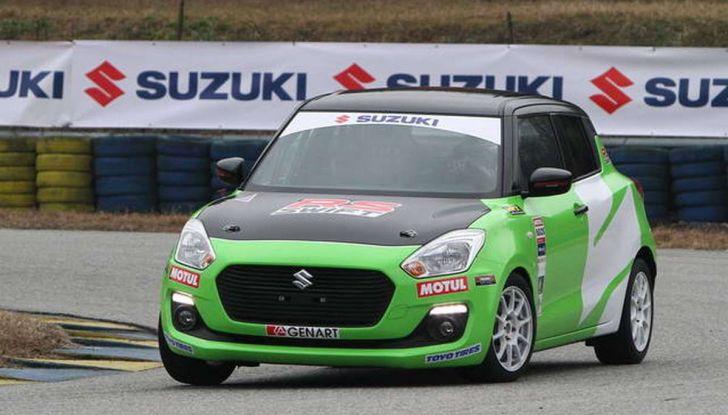 Suzuki Swift 1.0 Boosterjet RS debutta nei Campionati Italiani Rally - Foto 1 di 6