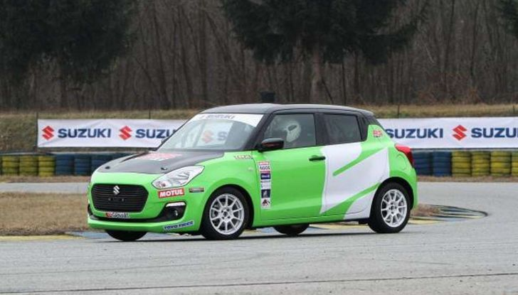 Suzuki Swift 1.0 Boosterjet RS debutta nei Campionati Italiani Rally - Foto 3 di 6
