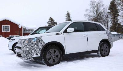 Suzuki Vitara Facelift 2018 primi dettagli tecnici e informazioni