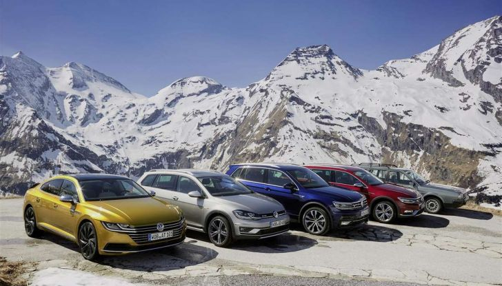 Volkswagen Passat festeggia i 35 anni di trazione integrale - Foto 3 di 15