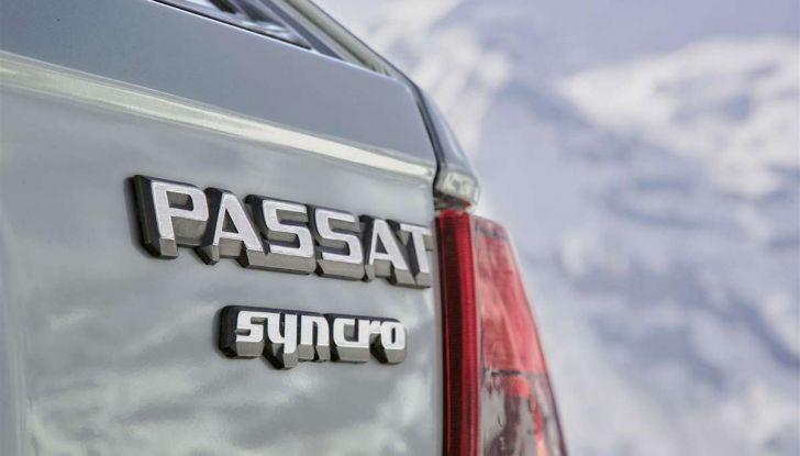 Volkswagen Passat festeggia i 35 anni di trazione integrale - Foto 10 di 15