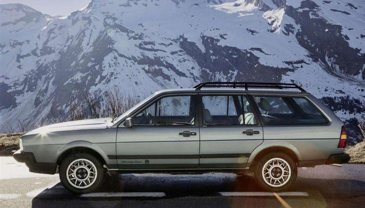 Volkswagen Passat festeggia i 35 anni di trazione integrale - Foto 11 di 15