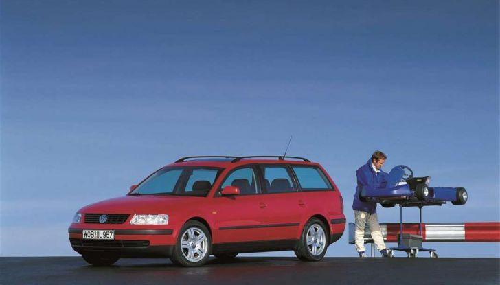 Volkswagen Passat festeggia i 35 anni di trazione integrale - Foto 13 di 15
