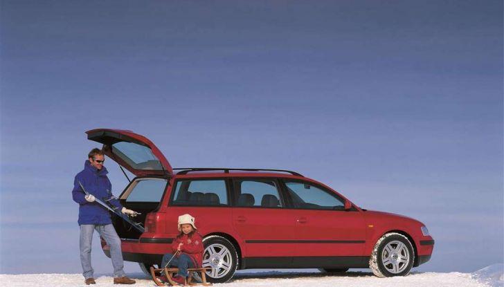 Volkswagen Passat festeggia i 35 anni di trazione integrale - Foto 14 di 15