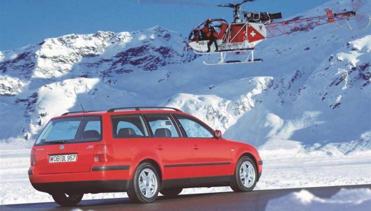 Volkswagen Passat festeggia i 35 anni di trazione integrale - Foto 15 di 15