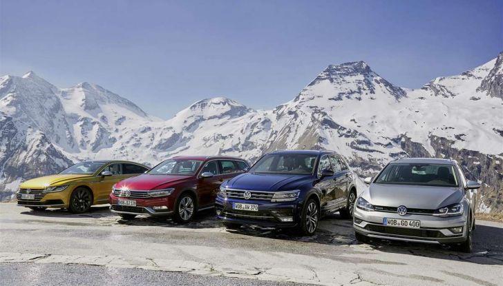 Volkswagen Passat festeggia i 35 anni di trazione integrale - Foto 2 di 15