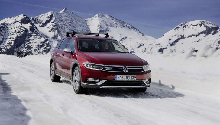 Volkswagen Passat festeggia i 35 anni di trazione integrale - Foto 1 di 15