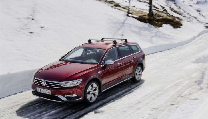 Volkswagen Passat festeggia i 35 anni di trazione integrale - Foto 4 di 15