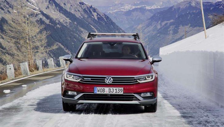 Volkswagen Passat festeggia i 35 anni di trazione integrale - Foto 6 di 15