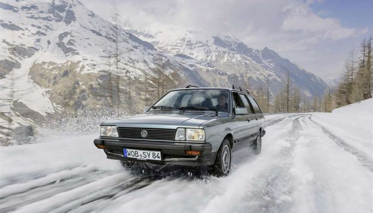 Volkswagen Passat festeggia i 35 anni di trazione integrale - Foto 7 di 15