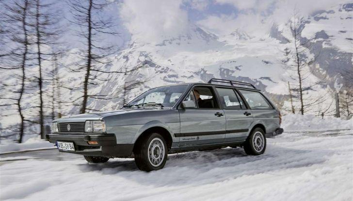 Volkswagen Passat festeggia i 35 anni di trazione integrale - Foto 8 di 15