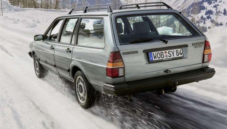 Volkswagen Passat festeggia i 35 anni di trazione integrale - Foto 9 di 15