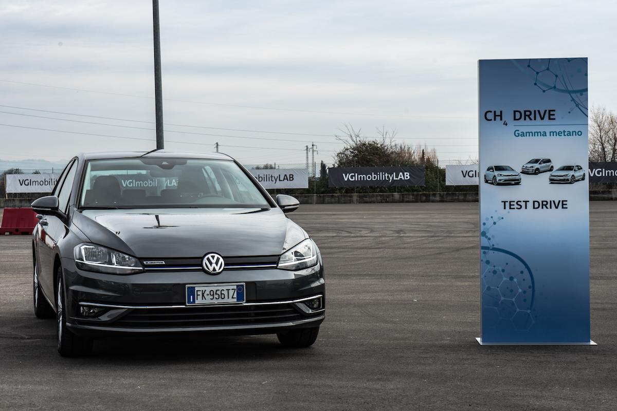 Volkswagen Golf 2018 a Metano 1.4 TGI