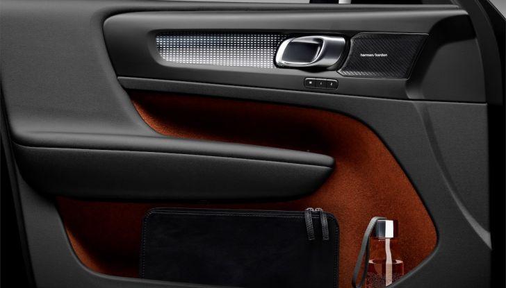 Volvo XC40: nel 2020 arriva la versione 100% elettrica - Foto 29 di 38