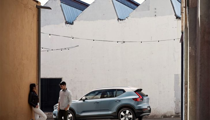 Volvo XC40: nel 2020 arriva la versione 100% elettrica - Foto 26 di 38