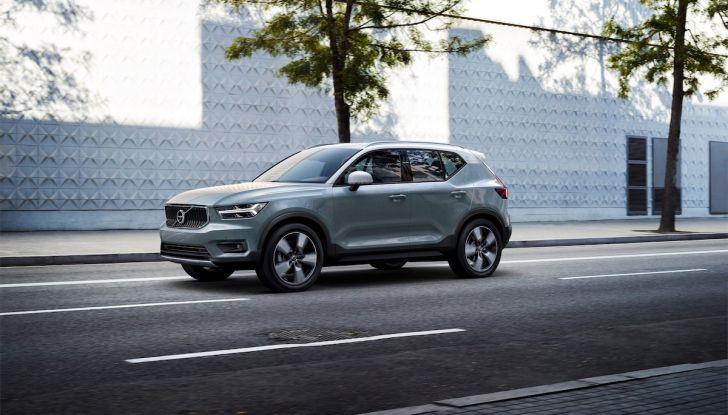 Volvo XC40: nel 2020 arriva la versione 100% elettrica - Foto 23 di 38