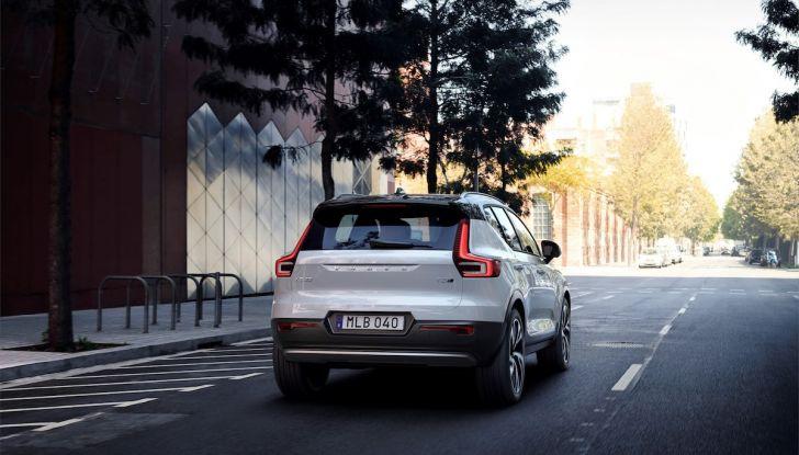 Volvo XC40: nel 2020 arriva la versione 100% elettrica - Foto 21 di 38