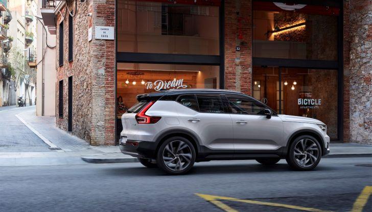 Volvo XC40: nel 2020 arriva la versione 100% elettrica - Foto 18 di 38