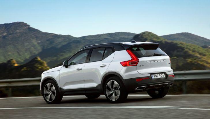 Volvo XC40: nel 2020 arriva la versione 100% elettrica - Foto 15 di 38