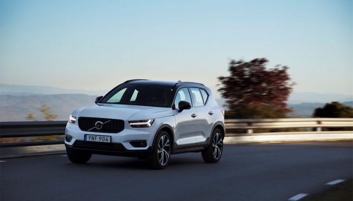 Volvo XC40: nel 2020 arriva la versione 100% elettrica - Foto 12 di 38