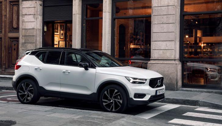 Volvo XC40: nel 2020 arriva la versione 100% elettrica - Foto 10 di 38