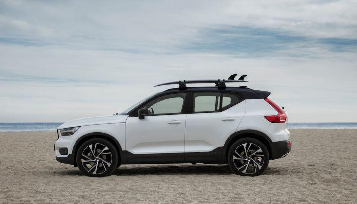 Volvo XC40: nel 2020 arriva la versione 100% elettrica - Foto 9 di 38