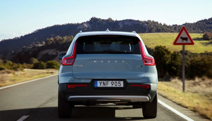 Volvo XC40: nel 2020 arriva la versione 100% elettrica - Foto 8 di 38