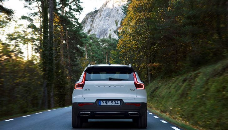 Volvo XC40: nel 2020 arriva la versione 100% elettrica - Foto 6 di 38