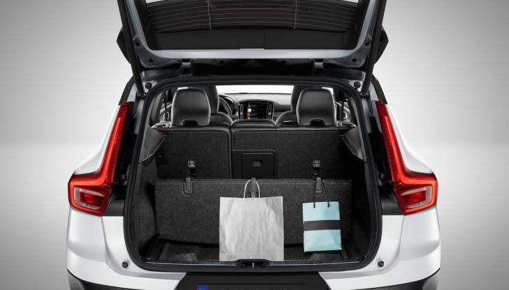 Volvo XC40: nel 2020 arriva la versione 100% elettrica - Foto 5 di 38