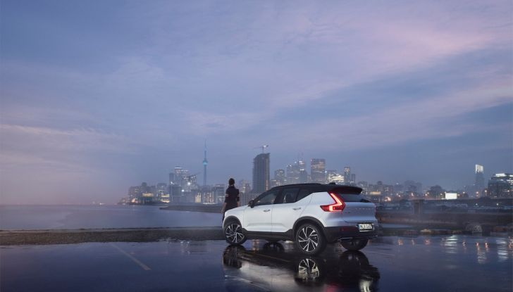 Volvo XC40: nel 2020 arriva la versione 100% elettrica - Foto 4 di 38