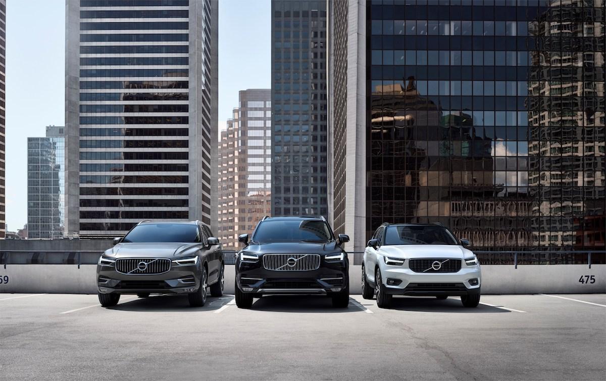 Volvo XC60, XC90 e XC40 a confronto