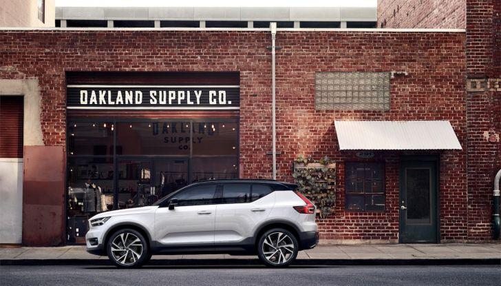 Volvo XC40: nel 2020 arriva la versione 100% elettrica - Foto 2 di 38