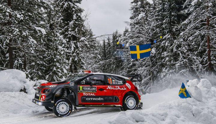 WRC Svezia 2018: progressi concreti per il team Citroën. - Foto 2 di 8