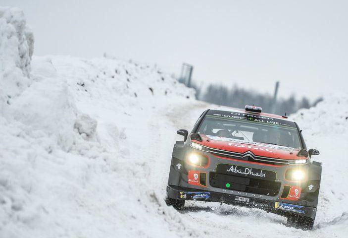 WRC Svezia 2018: progressi concreti per il team Citroën. - Foto 3 di 8