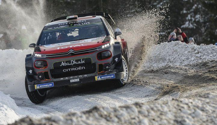 WRC Svezia 2018: progressi concreti per il team Citroën. - Foto 1 di 8