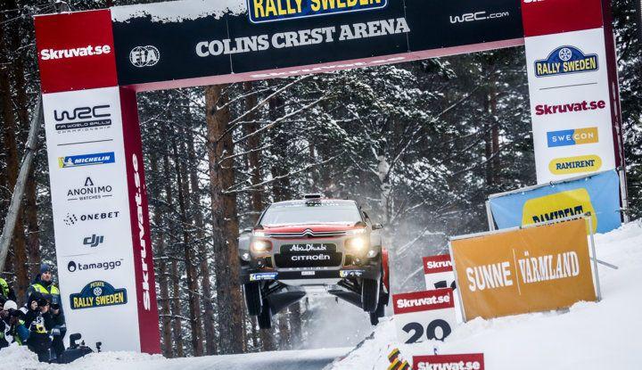 WRC Svezia 2018: progressi concreti per il team Citroën. - Foto 4 di 8