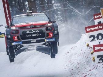 WRC Svezia 2018 – Giornata di Sabato 17: ancora Citroën protagonista nella TOP 5