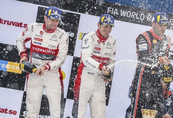 WRC Svezia 2018: progressi concreti per il team Citroën. - Foto 5 di 8